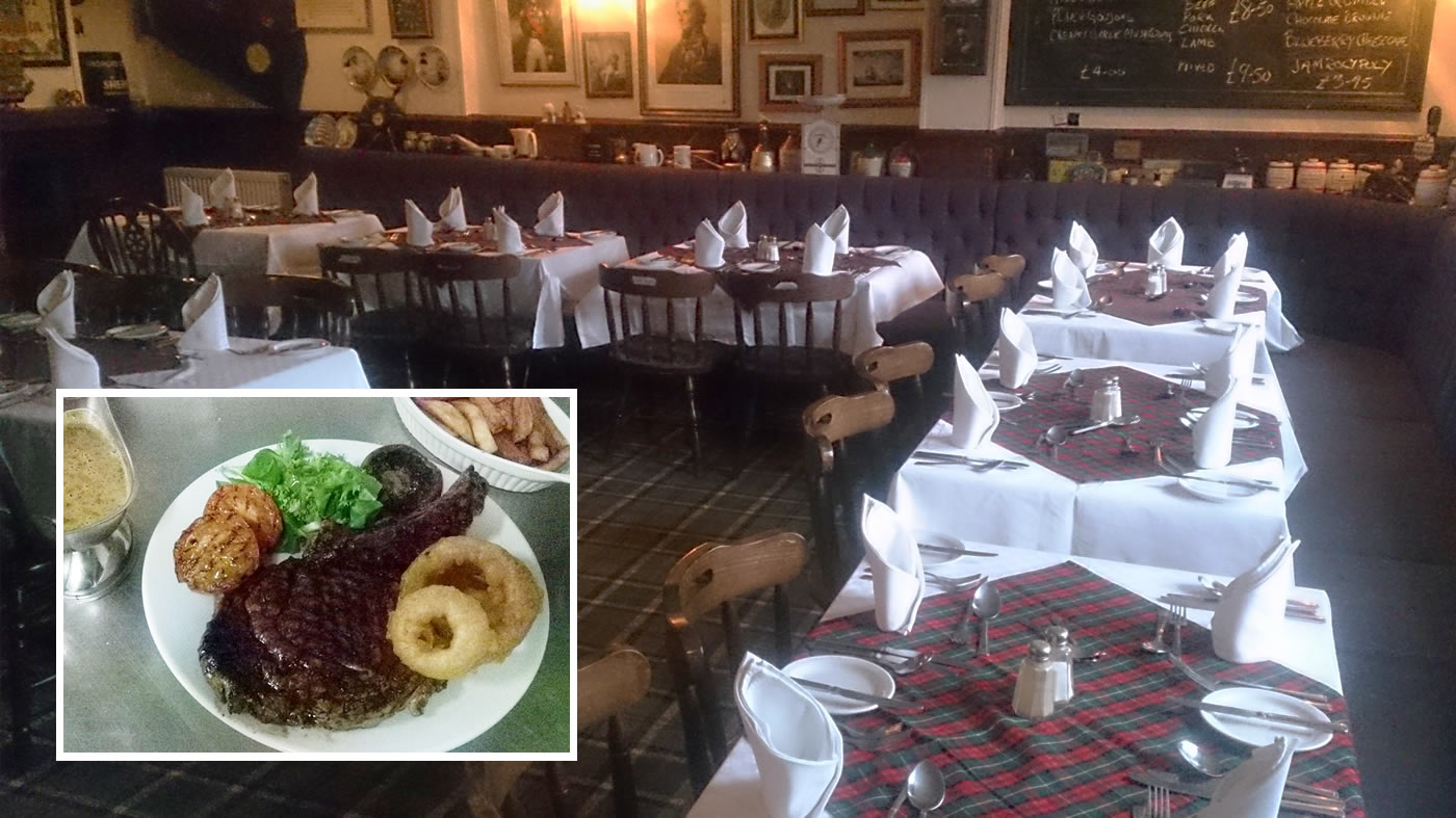 Food at The Lord Nelson, Appleton Wiske, North Yorkshire